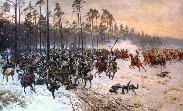 Jan Rosen, Battle of Stoczek, February 14, 1831.
