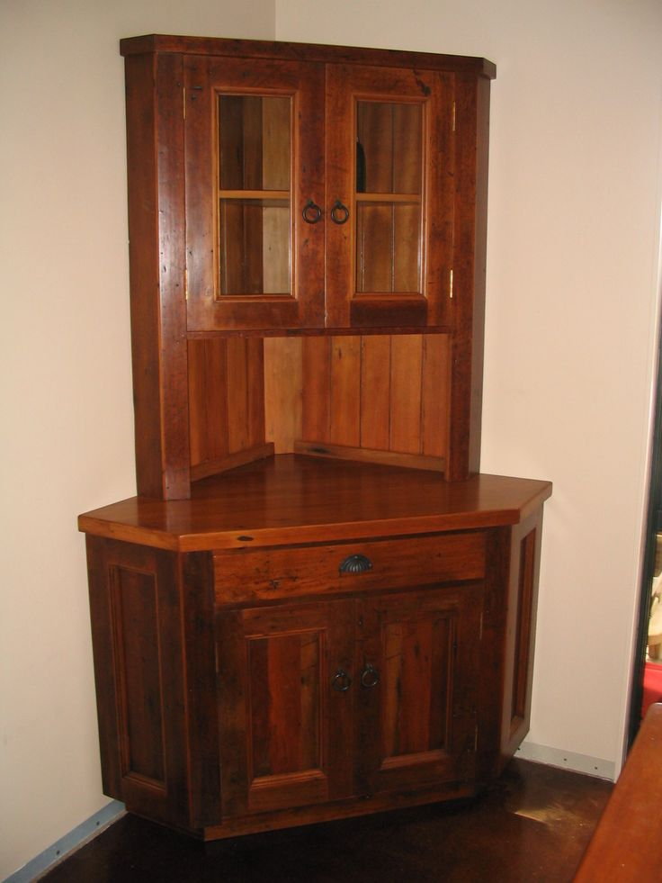 1000 images about corner cabinet on pinterest country for Corner cabinet
