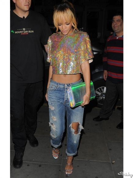 Rihanna Street Style Casual Edgy Chic Pinterest Cute Tops The Boyfriend And Rihanna