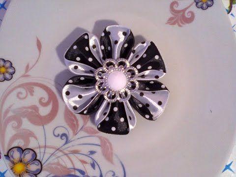 DIY: Заколочки для маленькой принцессы / Hairpins for hair for the little Princess - YouTube