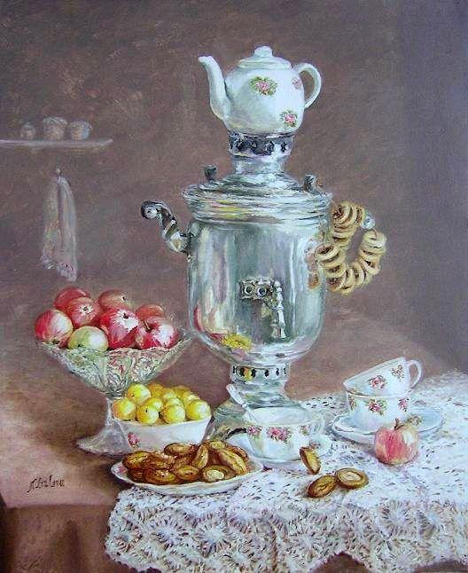 Лызлова Наталия. Приглашение к чаю