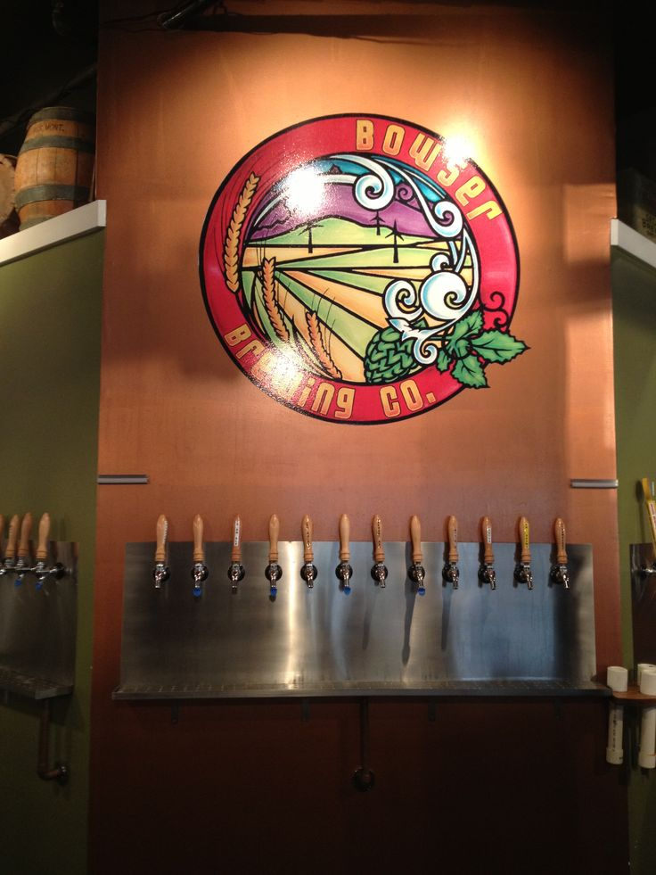 Map Of Oregon Breweries%0A Bowser Brewing Company in Great Falls Montana  So many microbrews on tap  there is something