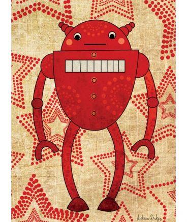 robot rouge
