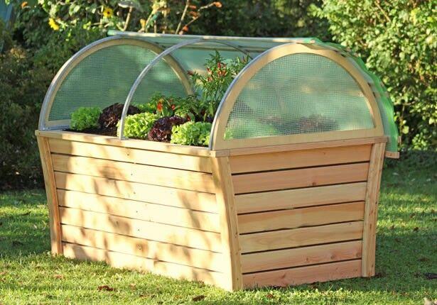 die besten 17 ideen zu hochbeet abdeckung auf pinterest paletten ende tabellen tuin und. Black Bedroom Furniture Sets. Home Design Ideas