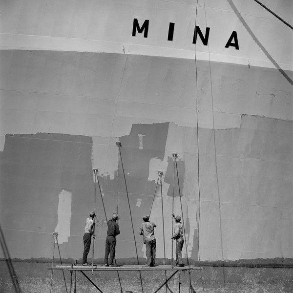 Dimitrios Harissiadis, Hellenic Shipyards, Skaramangas 1960 - Benaki Museum Shop
