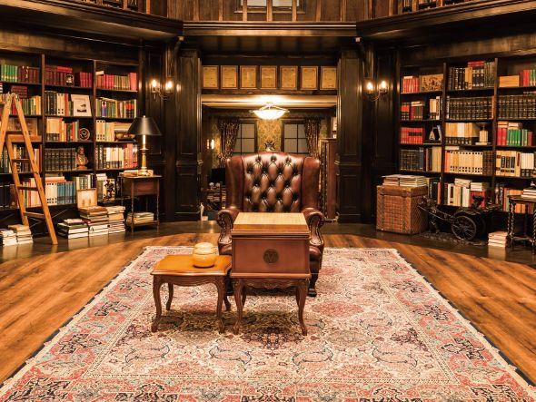 IQ246 ~華麗なる事件簿~ 法門寺家/大広間 #IQ246 #IQ246華麗なる事件簿 #TBS #日曜劇場 #織田裕二 #土屋太鳳 #ディーンフジオカ #interior #library #luxury #luxuryroom