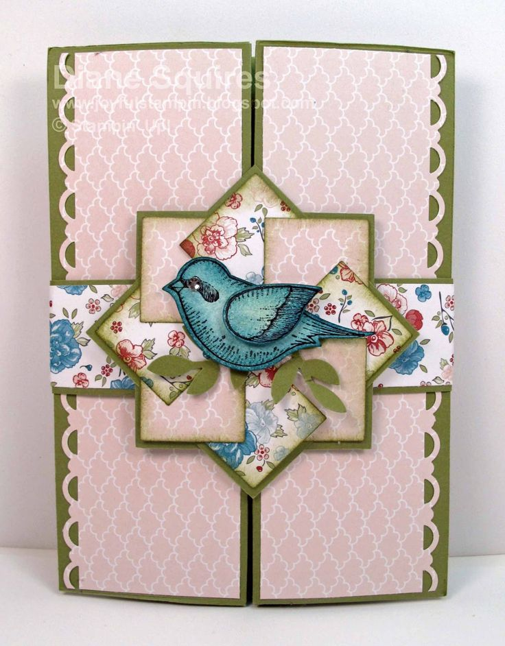 Joyful Stampin: Twitterepated Box Card