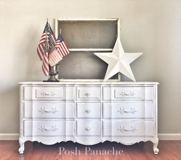 Snow White American Classic Dresser   General Finishes Design Center