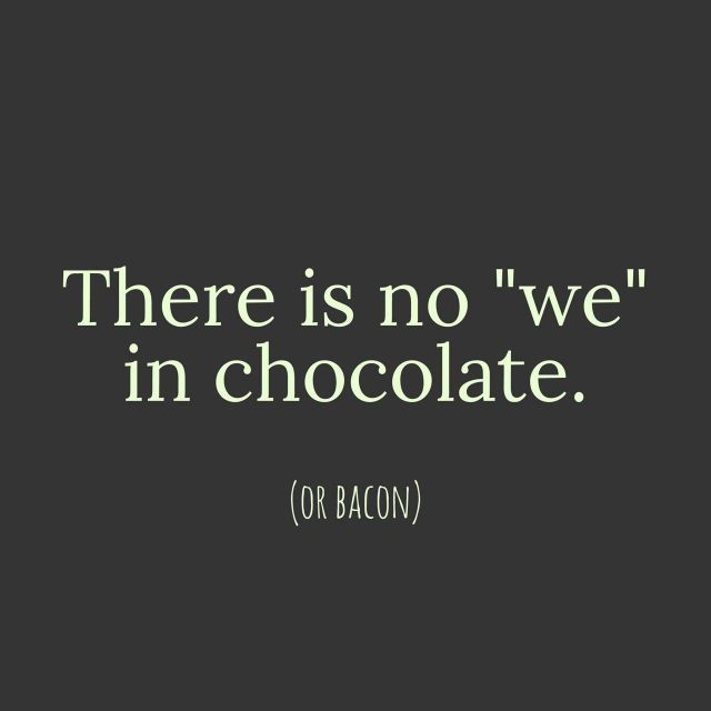 Chocolate meet bacon