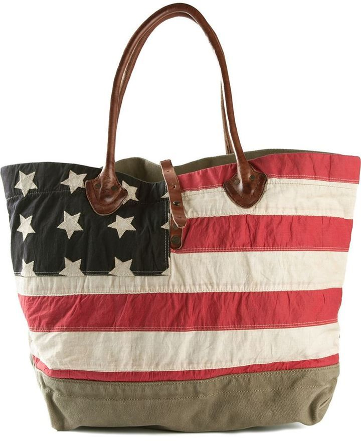 Shop for flag motif tote by Denim \u0026 Supply Ralph Lauren at ShopStyle.