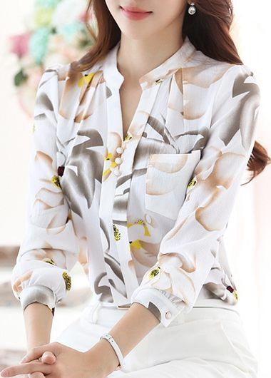 Long Sleeve Yellow Asymmetric Faux Two Piece Blouse on sale only US$16.99 now, buy cheap Long Sleeve Yellow Asymmetric Faux Two Piece Blouse at liligal.com