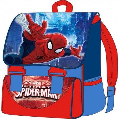Mochila Spiderman 41cm.