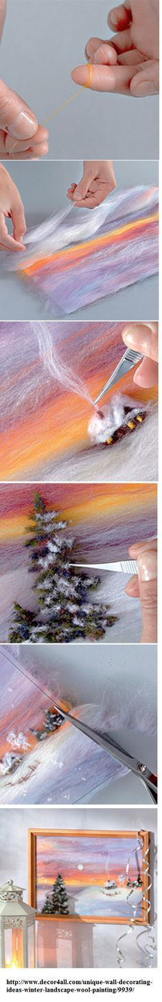 Felted painting                                                                                                                                                                                 Mehr
