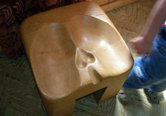Chair for men only