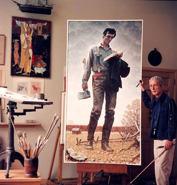 images of norman rockwell | The Big WaMu Art Giveaway