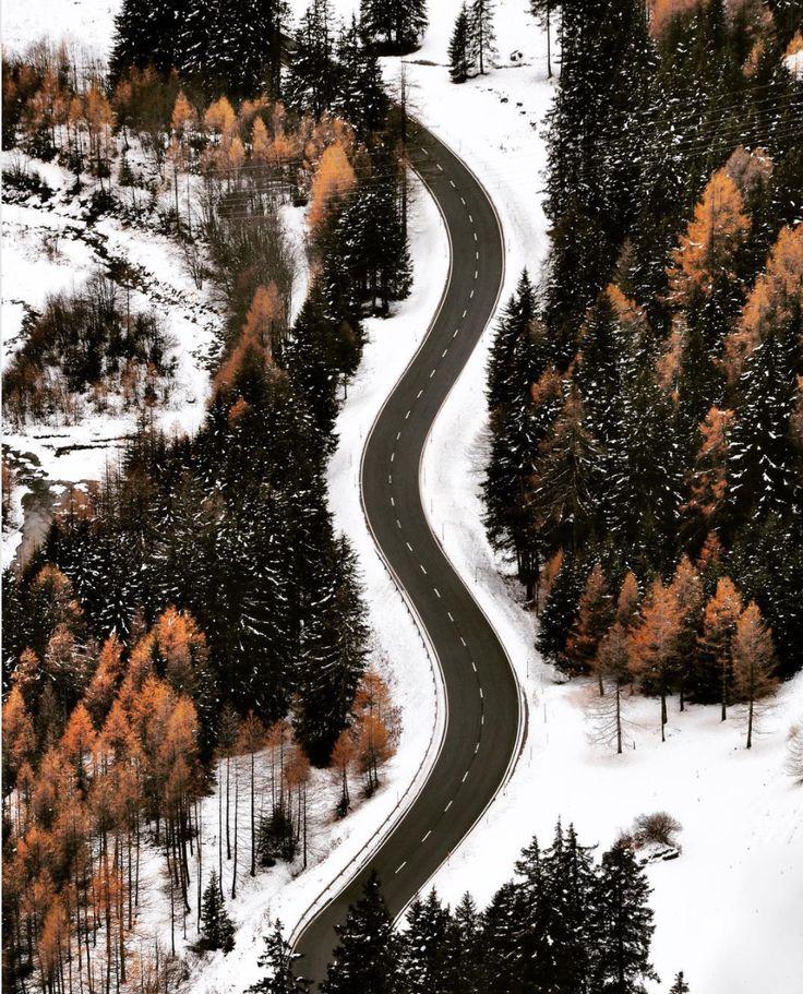 Les routes enneigées