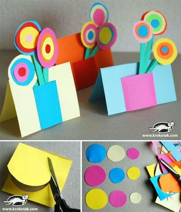 Paper Bouquet  http://www.buzzfeed.com/donnad/easy-emergency-mothers-day-crafts-for-kids?sub=2186760_1132728&s=mobile