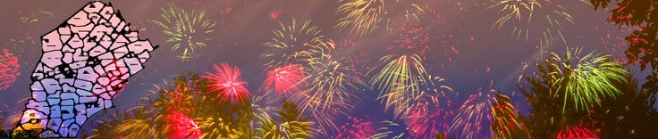 Chester County Fireworks | Fireworks schedule and map for Chester County, PA