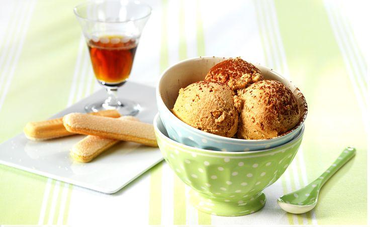 Recept Tiramisu-ijs