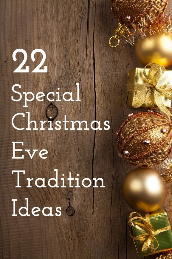 Amazing ideas to create your family's next Christmas Eve tradition!
