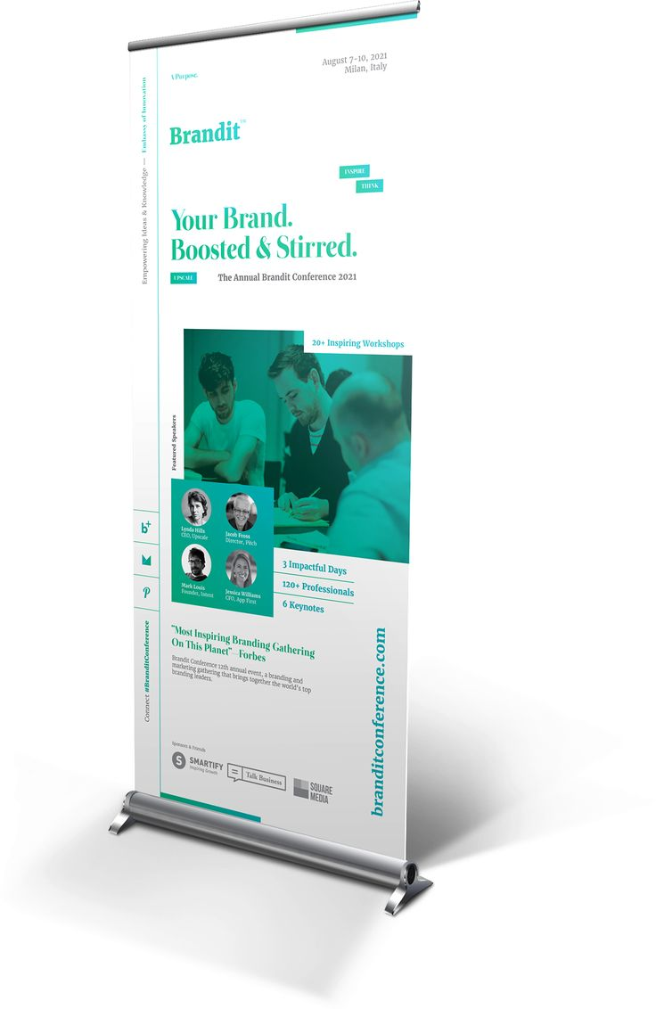 Event Roll Up Banner Templates On Behance Layout Design