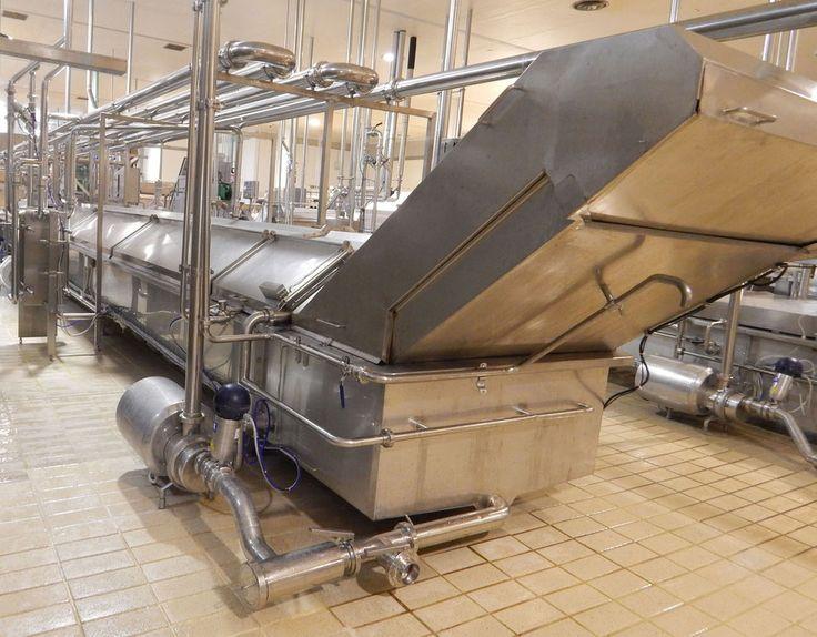 Impianto di Rassodamento - Macchine per l' Industria Casearia - Alimentare