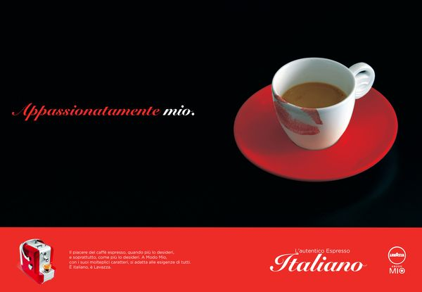 Advertise for Lavazza