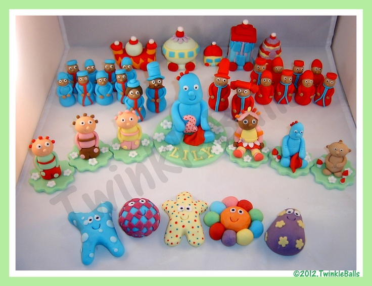 The entire In The Night Garden Set