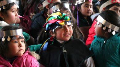 Liceo intercultural mapuche construye su primera ruka pedagógica