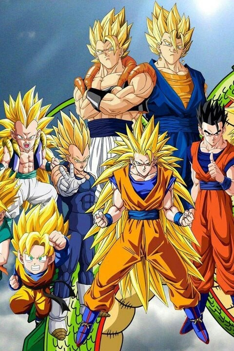 Dragonball z... you can't fuck with this show! Best anime.