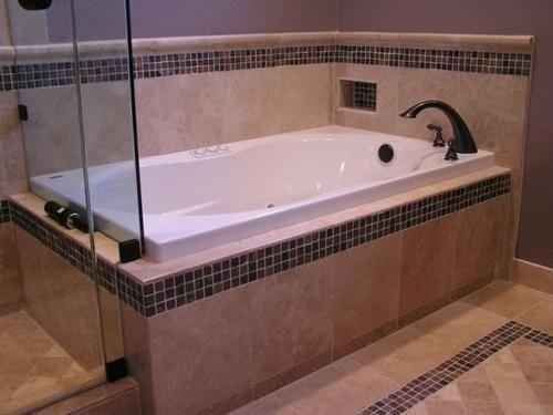 Badrand hou dat teels bietjie uitkom badkamer teel for Bathroom sink surround