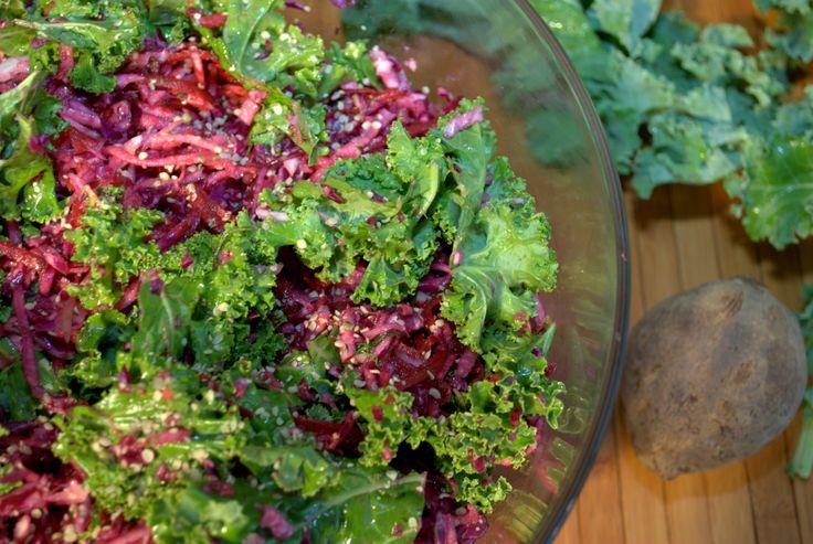 Kale slaw salad - Recipe by Marni Wasserman