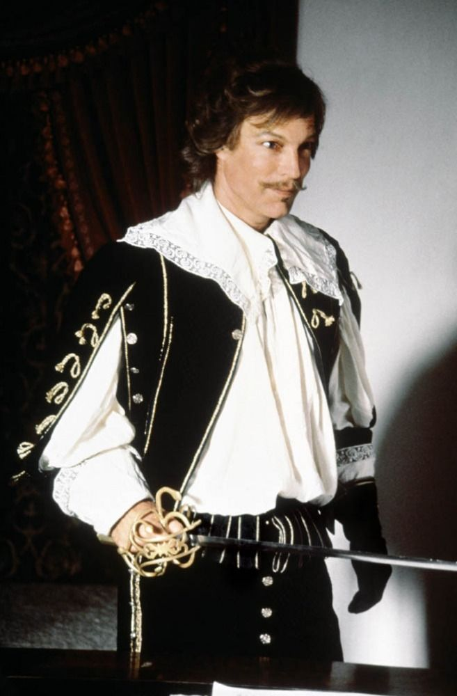 "Richard Chamberlain as Aramis in ""The Three Musketeers"""
