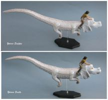 Falkor The Neverending Story falcor sculpture 3 by yotaro-sculpts
