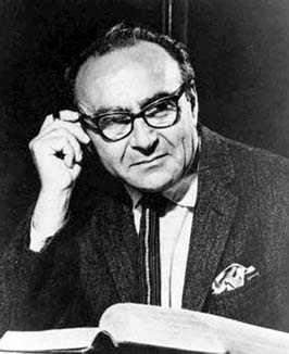 Jacob Bronowski (18 January 1908 – 22 August 1974) was a Polish-Jewish British mathematician, biologist, historian of science, theatre author, poet and inventor. He is best remembered as the presenter and writer of the 1973 BBC television documentary series, The Ascent of Man, and the accompanying book.