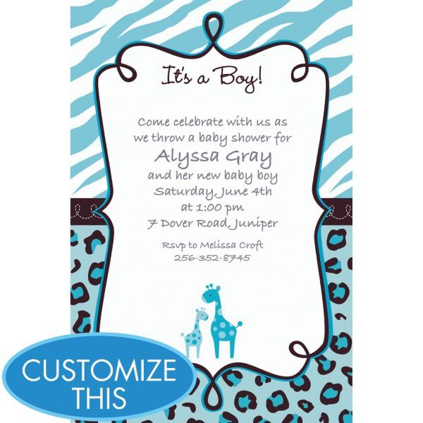 14 best images about baby shower on pinterest   baby shower themes, Baby shower invitations