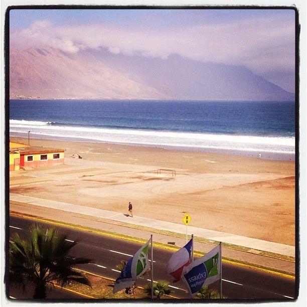 Vista al mar desde el Hotel