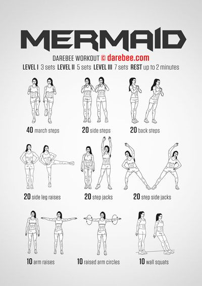Mermaid Workout