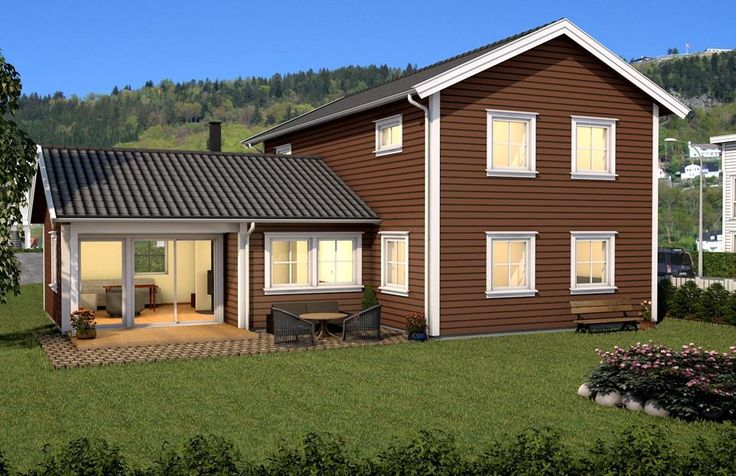 Bjørnegga 2 | Idehus - hus og hytteleverandør