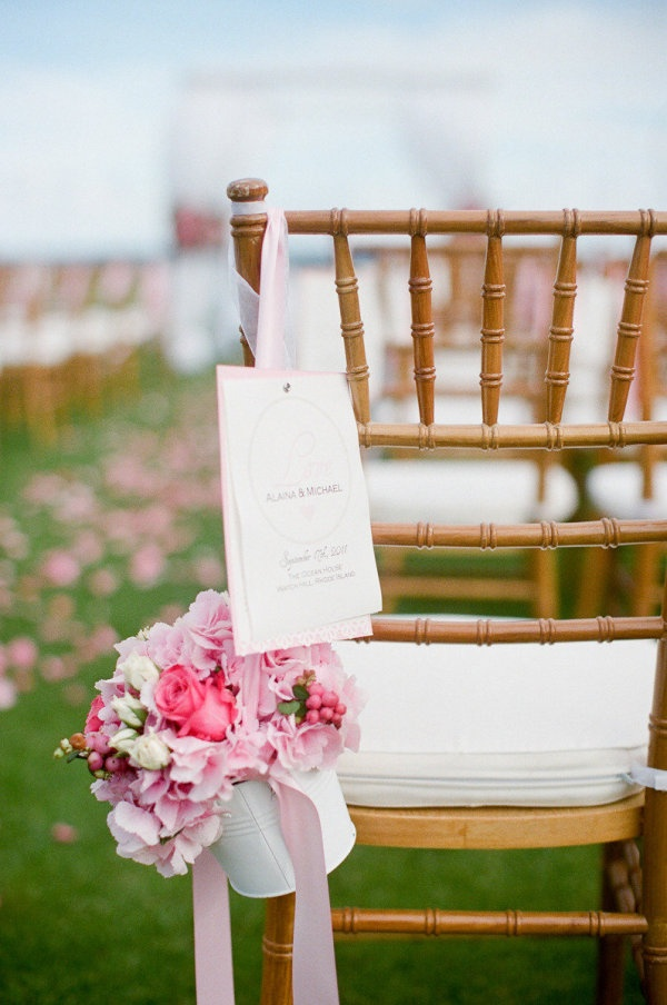 Flowers for pink wedding aisle chairs: Lauraivanova Com, Floral Design, Wedding Ideas, Livingston Flowers, Ivanova Photography, Sayleslivingstonflowers Com, Wedding Flowers, Laura Ivanova, Sayles Livingston