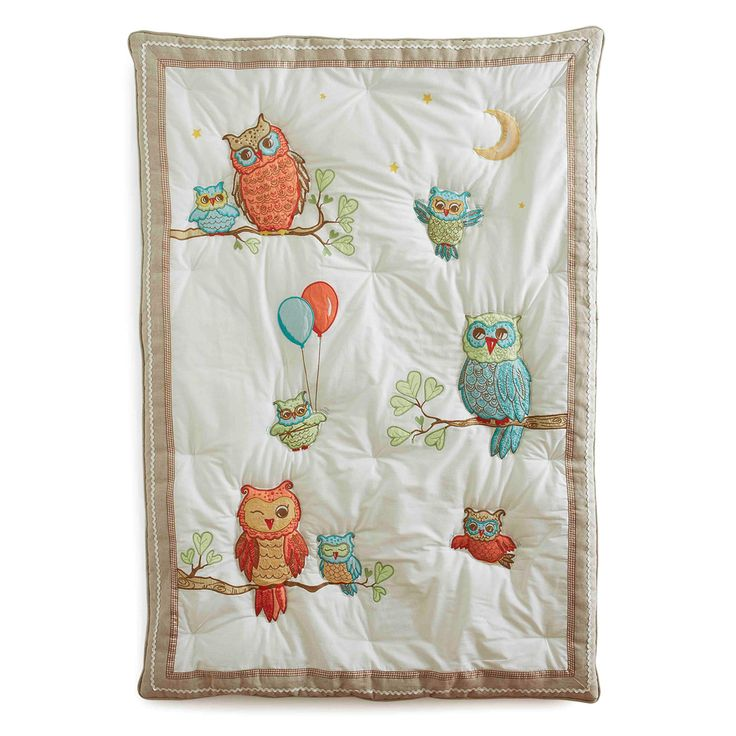 The Baby Owls Quilt | The Little Acorn