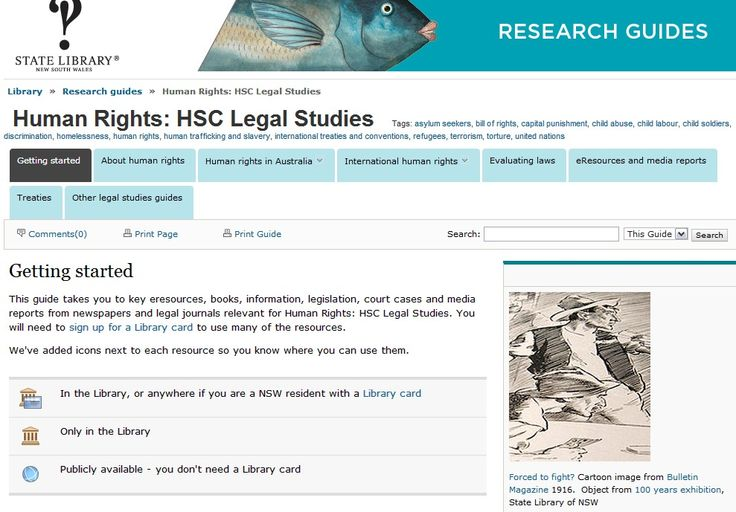 Find out about different human rights issues in Australia and internationally - links to media, legislation, treaties, magazine articles and case studies