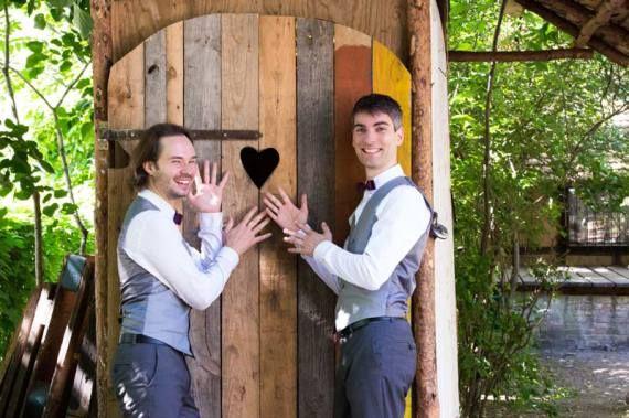 Eine schwule Hochzeit in