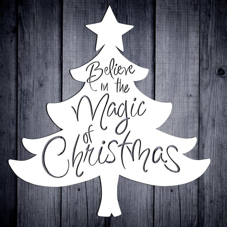 Believe In The Magic Of Christmas Svg Christmas Svg Quotes
