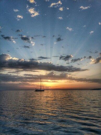 The Magical #Sunrise In #Hersonissos #Crete #Greece #visitgreecegr