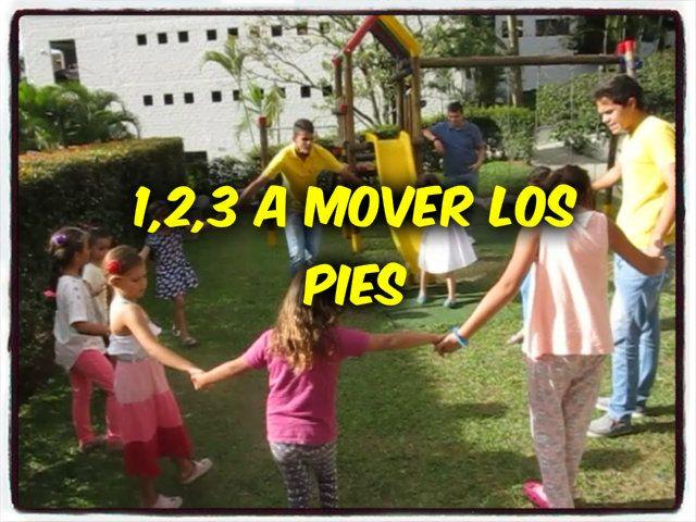 1,2,3 a mover los pies