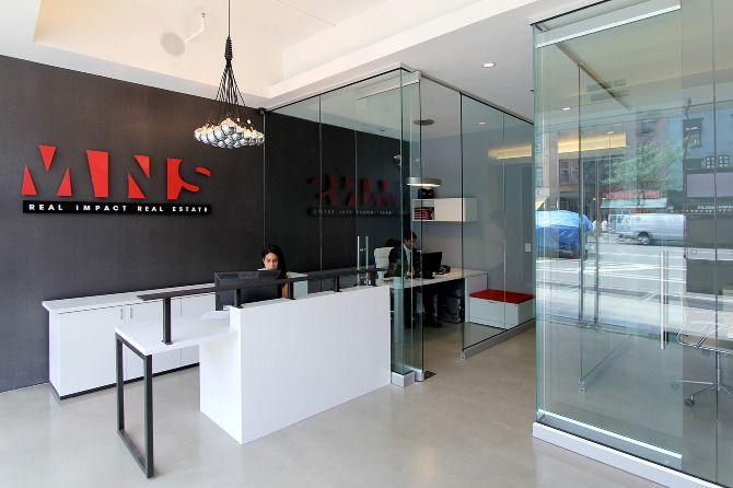 MNS Office - reception desk