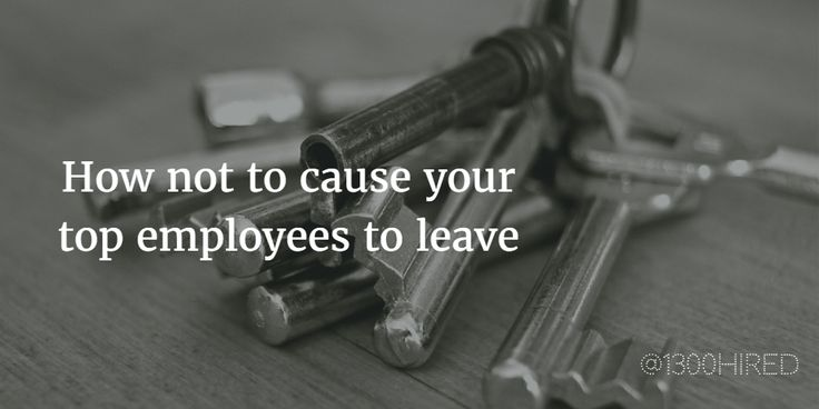 Remember, poor #leadership can trigger a top talent's decision to leave a company for its competitors. Avoid these 5 mistakes when dealing with employee #turnover and #retention.