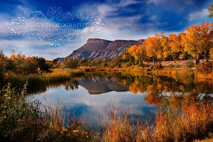 Grand Junction, Colorado, Mount Garfield, Beautiful fall ...