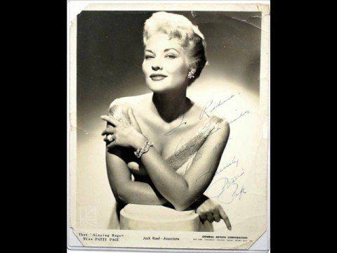 Patti Page - YOU BELONG TO ME - YouTube